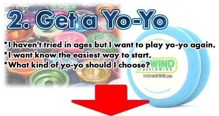 Beginners yoyo guide